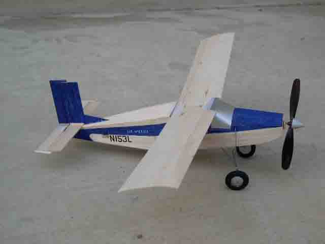 completed pilatus porter model airplane