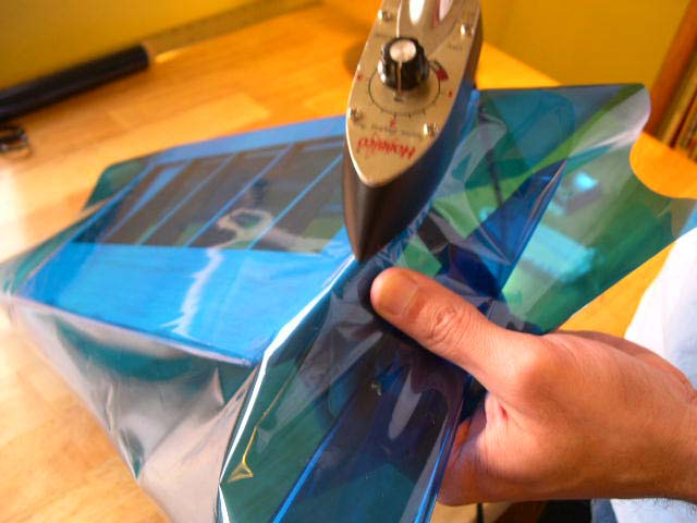 Covering Rc Airplanes With Heat Shrink Covering Plastic